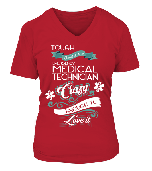 Tough Enough To Be An Emergency Medical Technician Shirt - Giggle Rich - 15