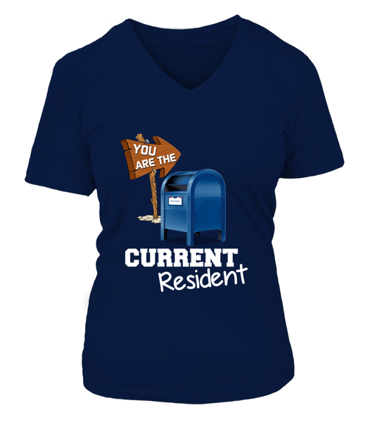 You Are The Current Resident - Postal Worker Shirt - Giggle Rich - 17