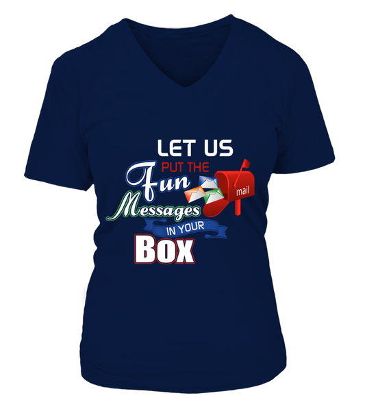 Postal Workers Put Messages In Your Box Shirt - Giggle Rich - 2