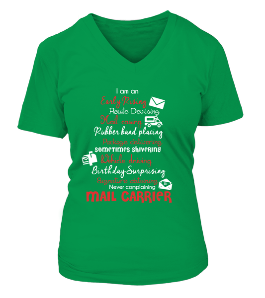 I Am An Early Rising Mail Carrier Shirt - Giggle Rich - 14