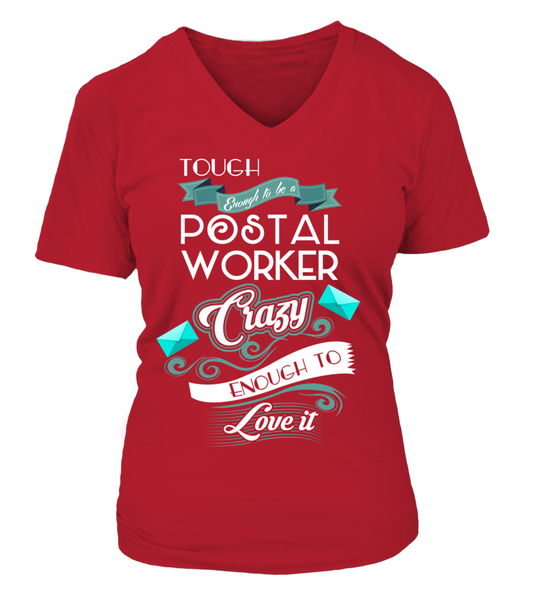 Tough Enough To Be A Postal Worker Shirt - Giggle Rich - 15