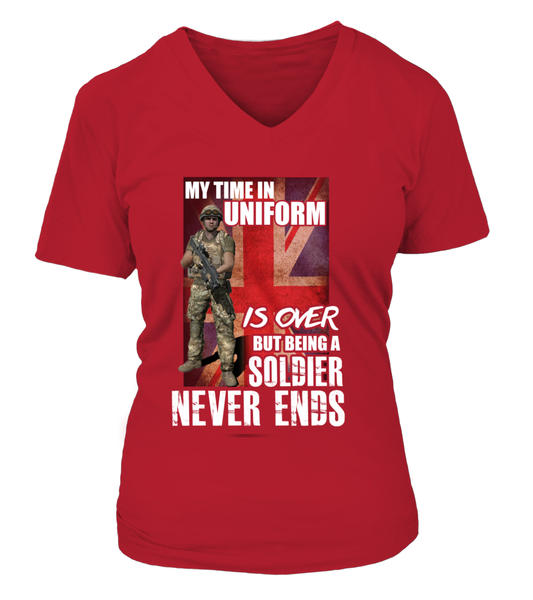 My Time In Uniform Is Over But Being A Soldier Never Ends