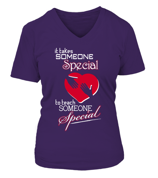 It Takes Someone Special To Teach Someone Special Shirt - Giggle Rich - 7