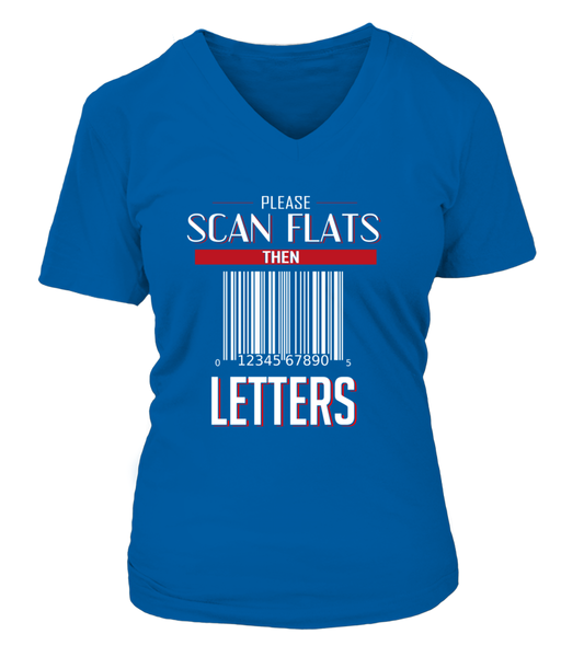 Please Scan Flats Then Letters