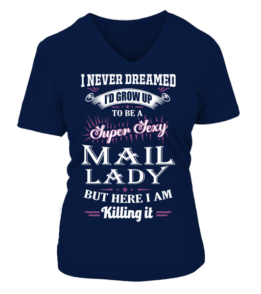Super Sexy Mail Lady Shirt - Giggle Rich - 15
