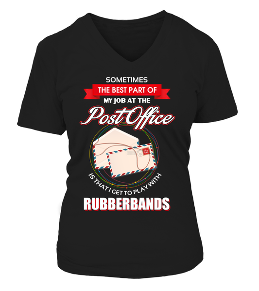 Post Office Rubberbands Shirt - Giggle Rich - 23
