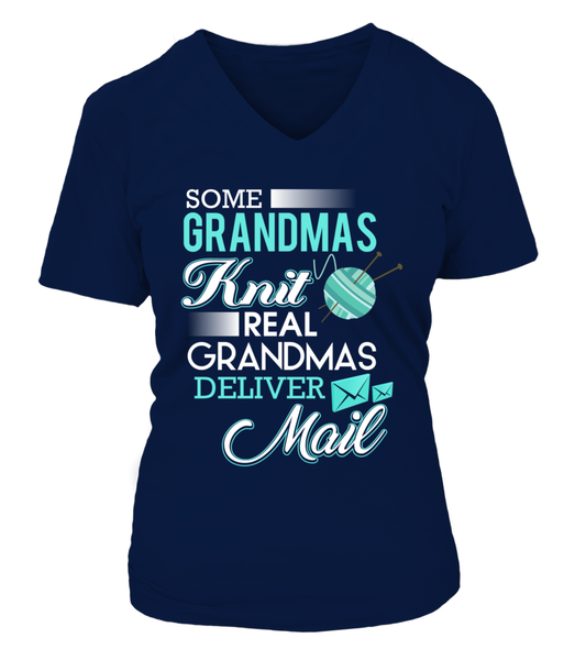 Real Grandmas Deliver Mail Shirt - Giggle Rich - 15