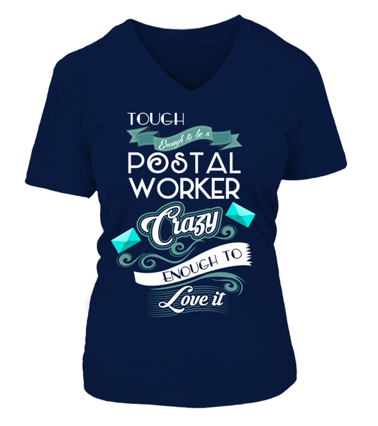 Tough Enough To Be A Postal Worker Shirt - Giggle Rich - 17
