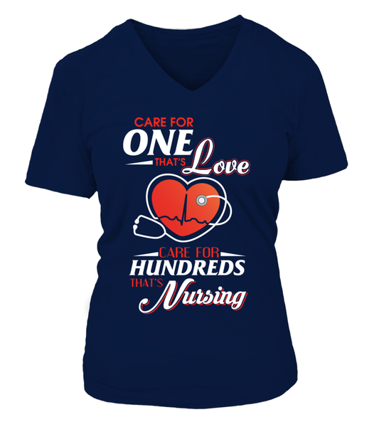 Care For Hundreds That's Nursing Shirt - Giggle Rich - 8