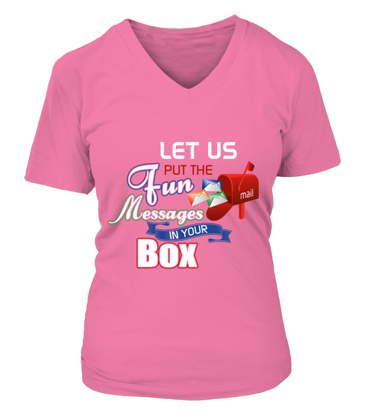 Postal Workers Put Messages In Your Box Shirt - Giggle Rich - 9