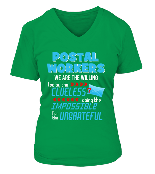 Postal Workers Doing The Impossible Shirt - Giggle Rich - 15