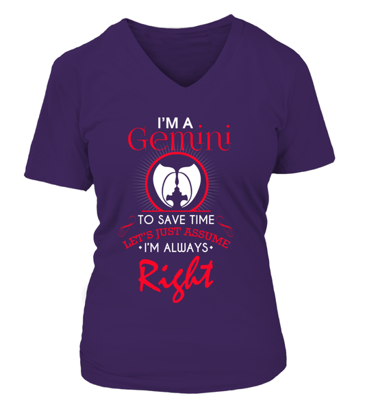 I'M A Gemini I'M Always Right