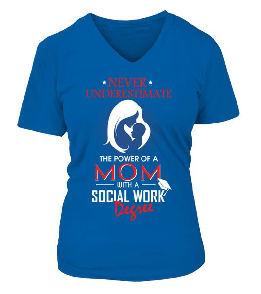 Mom With Social Work Degree Shirt - Giggle Rich - 17