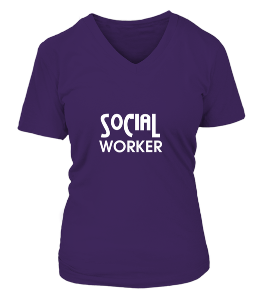 Everyone Is Worthy To Social Worker Shirt - Giggle Rich - 7