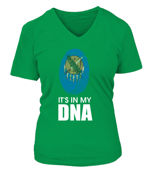 It's In My DNA- Oklahoma Shirt - Giggle Rich - 8