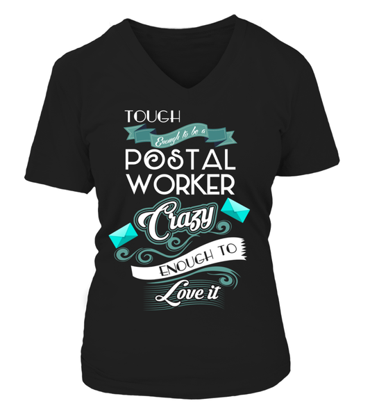 Tough Enough To Be A Postal Worker Shirt - Giggle Rich - 18
