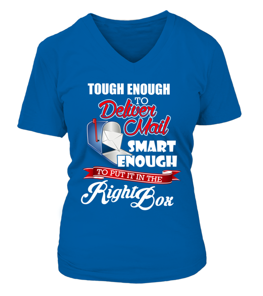 Tough Enough To Deliver Mail Shirt - Giggle Rich - 18
