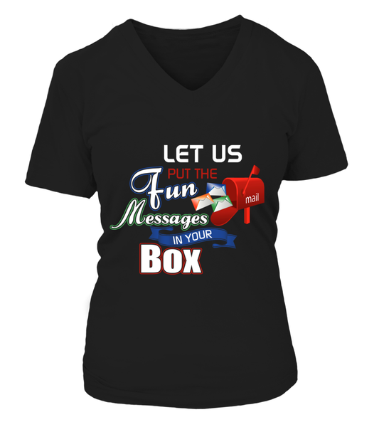 Postal Workers Put Messages In Your Box Shirt - Giggle Rich - 5