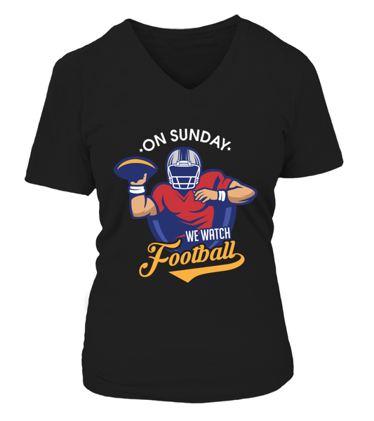 On Sunday We Watch Football