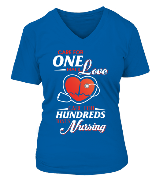 Care For Hundreds That's Nursing Shirt - Giggle Rich - 7
