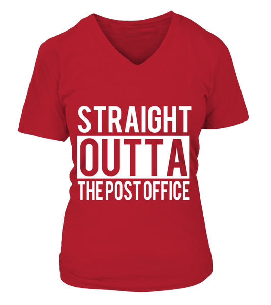 Straight Outta The Post Office Shirt - Giggle Rich - 15