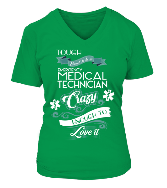 Tough Enough To Be An Emergency Medical Technician Shirt - Giggle Rich - 16