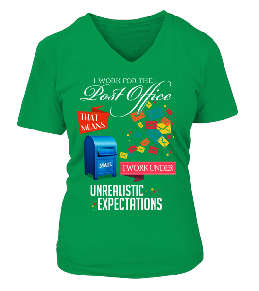 I Work For The Post Office Under Unrealistic Expectations  - Giggle Rich - 14