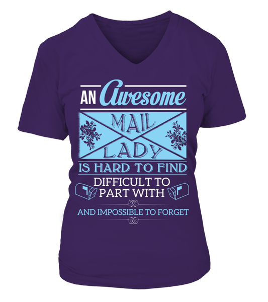 An Awesome Mail Lady Shirt - Giggle Rich - 17