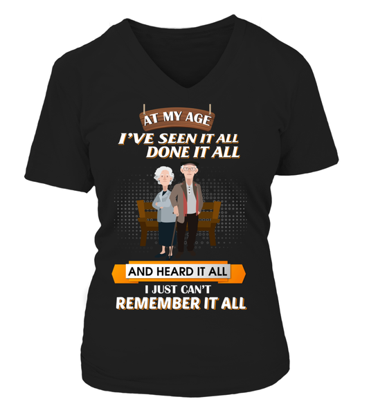 At My Age - I Just Can't Remember It All Shirt - Giggle Rich - 16