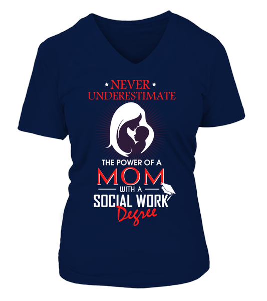 Mom With Social Work Degree Shirt - Giggle Rich - 14