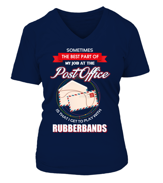 Post Office Rubberbands Shirt - Giggle Rich - 22
