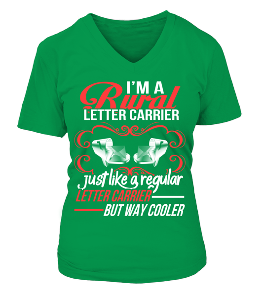 Rural Letter Carrier - But Way Cooler Shirt - Giggle Rich - 17