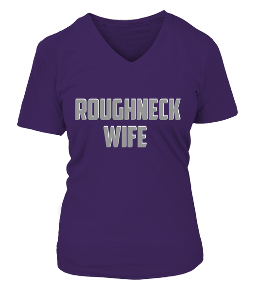Roughneck Wife Waiting For Her Husband Shirt - Giggle Rich - 19