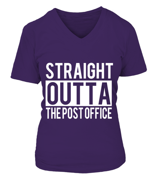 Straight Outta The Post Office Shirt - Giggle Rich - 14