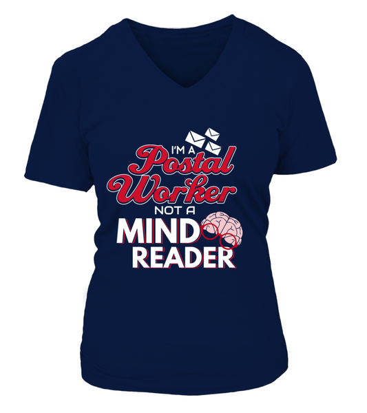 I'M A Postal Worker Not A Mind Reader Shirt - Giggle Rich - 7