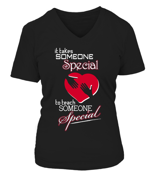 It Takes Someone Special To Teach Someone Special Shirt - Giggle Rich - 9