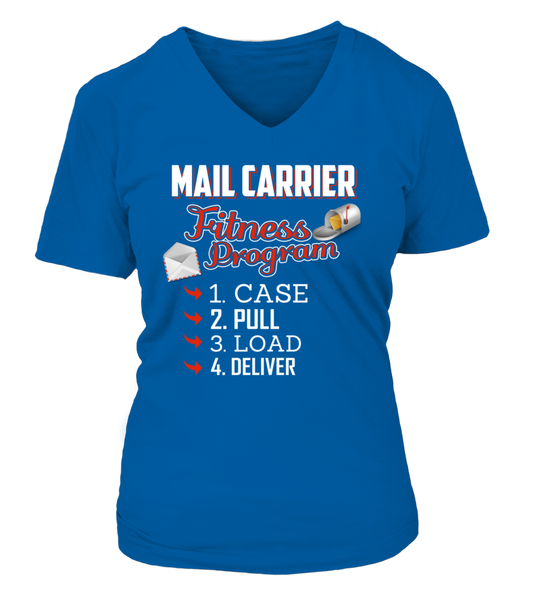 Mail Carrier Fitness Program Shirt - Giggle Rich - 10