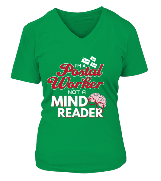 I'M A Postal Worker Not A Mind Reader Shirt - Giggle Rich - 10