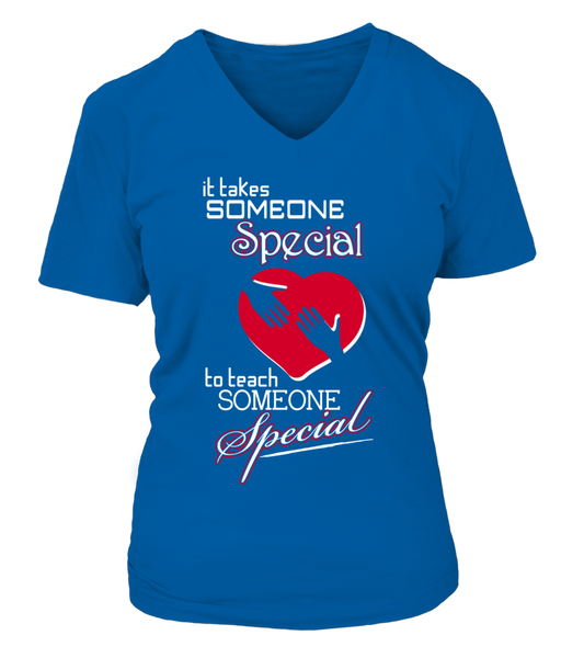 It Takes Someone Special To Teach Someone Special Shirt - Giggle Rich - 10