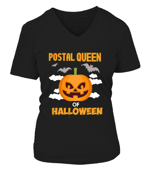 Postal Queen Of Halloween Shirt - Giggle Rich - 13