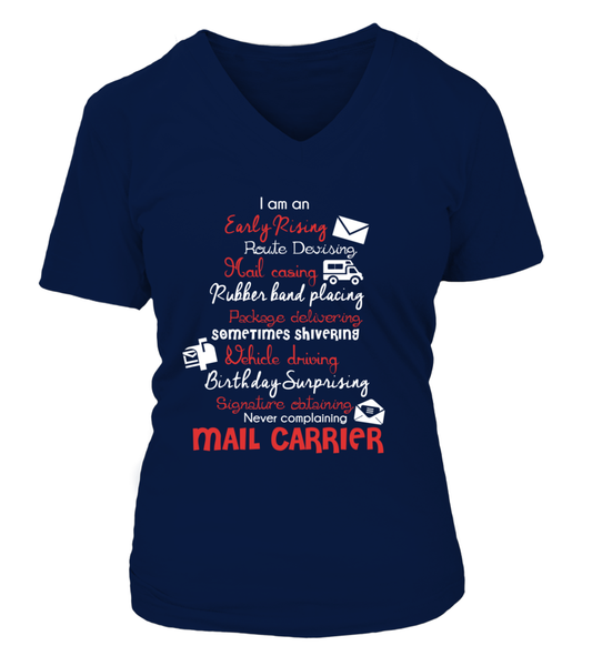 I Am An Early Rising Mail Carrier Shirt - Giggle Rich - 12