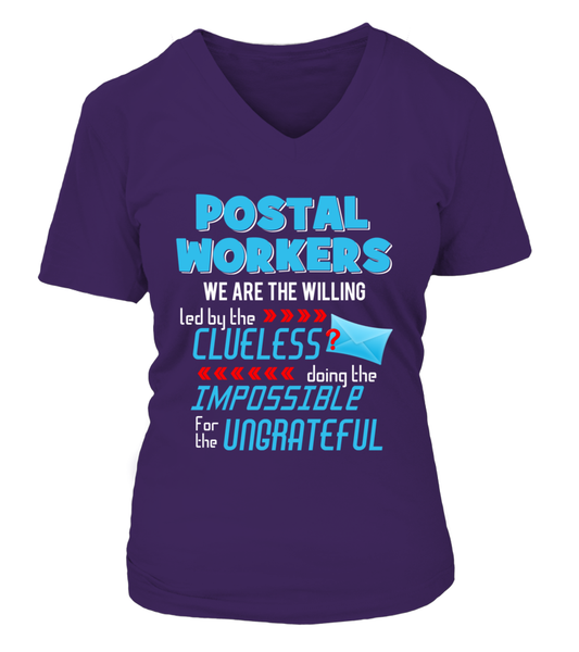 Postal Workers Doing The Impossible Shirt - Giggle Rich - 14