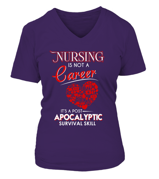 Nursing Is Not A Career Shirt - Giggle Rich - 10