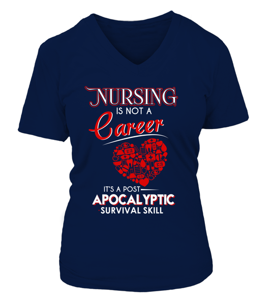 Nursing Is Not A Career Shirt - Giggle Rich - 9