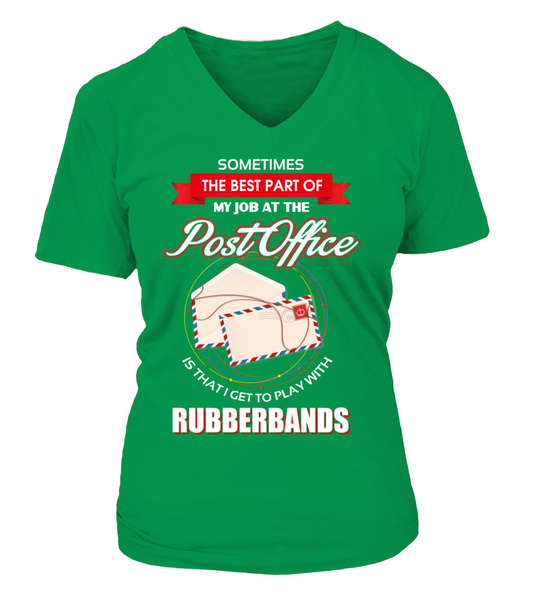 Post Office Rubberbands Shirt - Giggle Rich - 20