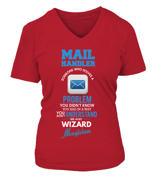 Mail Handler Solves Problems Shirt - Giggle Rich - 13