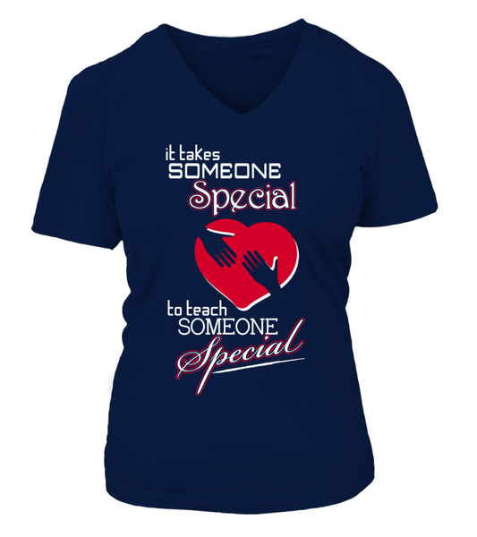 It Takes Someone Special To Teach Someone Special Shirt - Giggle Rich - 8