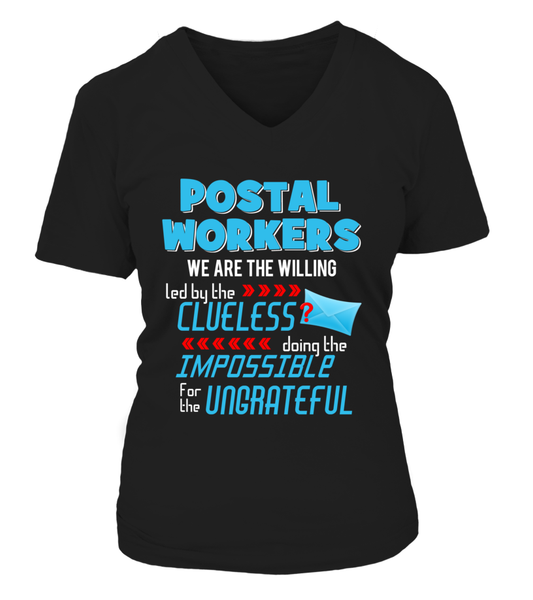 Postal Workers Doing The Impossible Shirt - Giggle Rich - 12