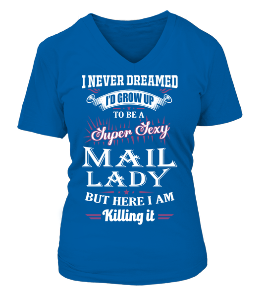 Super Sexy Mail Lady Shirt - Giggle Rich - 14