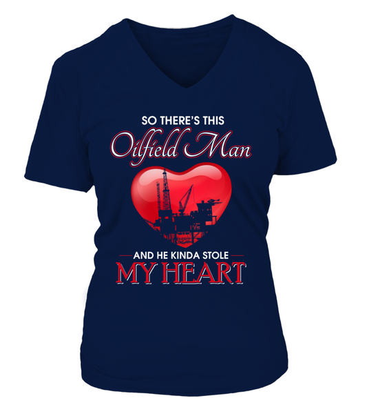 Oilfield Man Heart Shirt - Giggle Rich - 9